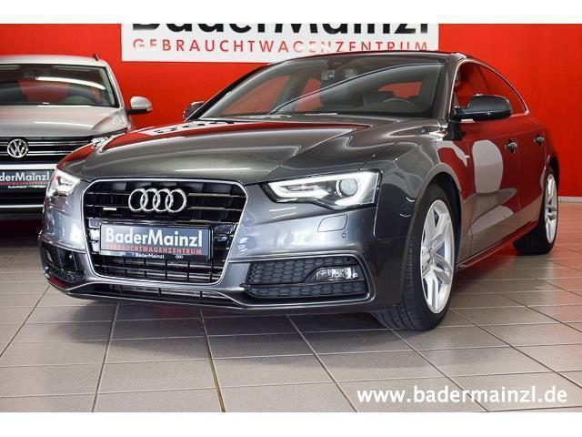 verkauft audi a5 sportback tdi 2 0 qua gebraucht 2013. Black Bedroom Furniture Sets. Home Design Ideas