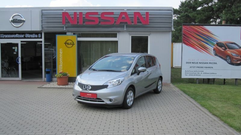 verkauft nissan note 1 2 acenta klimaa gebraucht 2013 km in duisburg. Black Bedroom Furniture Sets. Home Design Ideas