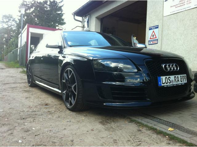 verkauft audi s6 s6 rs6 umbau 2010 gebraucht 2006 km in woltersdorf. Black Bedroom Furniture Sets. Home Design Ideas
