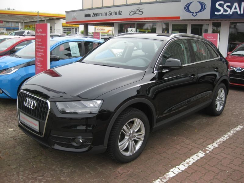 verkauft audi q3 2 0 tdi gebraucht 2012 km in passau. Black Bedroom Furniture Sets. Home Design Ideas