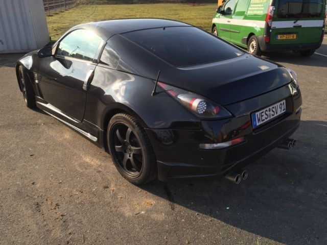 verkauft nissan 350z gebraucht 2008 km in nordrhein westfalen. Black Bedroom Furniture Sets. Home Design Ideas