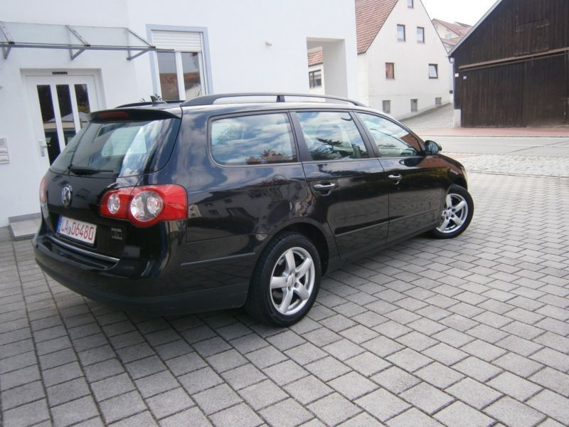 verkauft vw passat variant trendline k gebraucht 2008 km in rottenburg. Black Bedroom Furniture Sets. Home Design Ideas