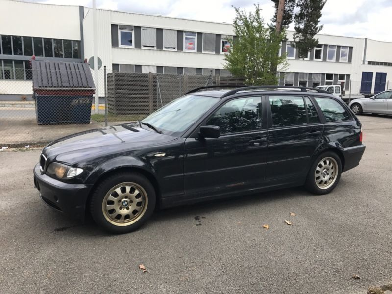 verkauft bmw 320 3er touring gebraucht 2005 km in n rnberg. Black Bedroom Furniture Sets. Home Design Ideas