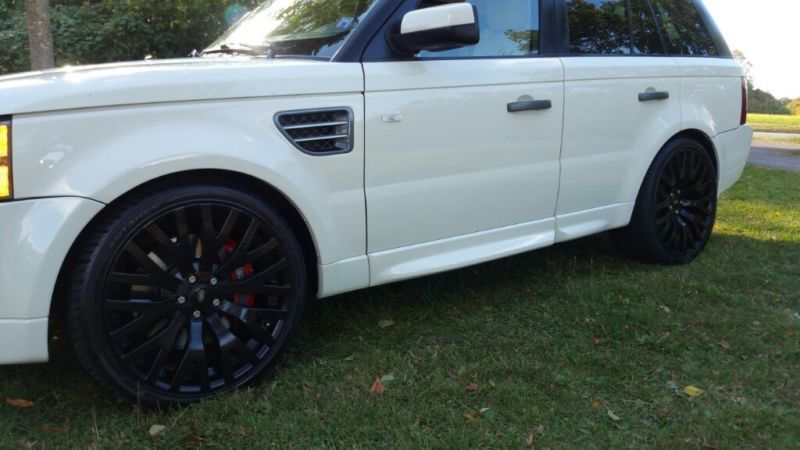 verkauft land rover range rover sport gebraucht 2008 km in stuttgart. Black Bedroom Furniture Sets. Home Design Ideas