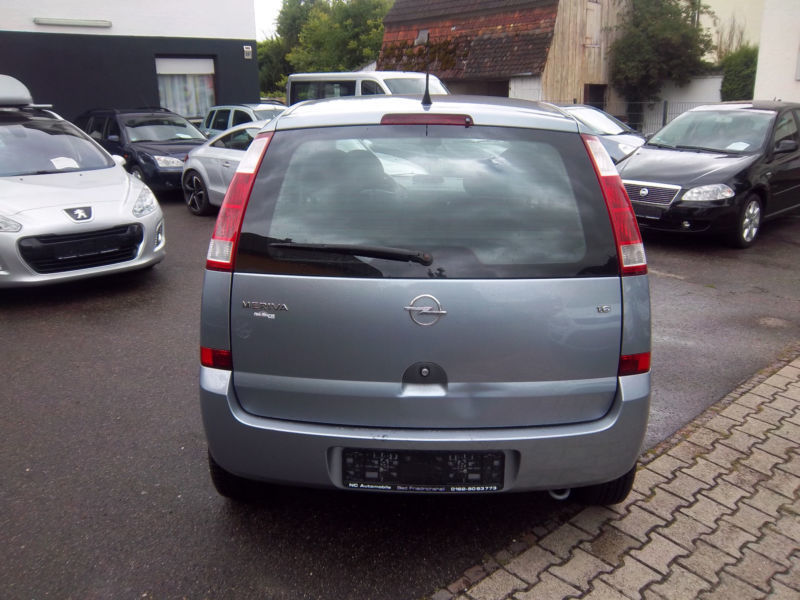 verkauft opel meriva 1 6 16v gebraucht 2003 km in bad friedrichshal. Black Bedroom Furniture Sets. Home Design Ideas
