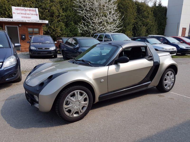 roadster gebrauchte smart roadster kaufen 338 g nstige autos zum verkauf. Black Bedroom Furniture Sets. Home Design Ideas