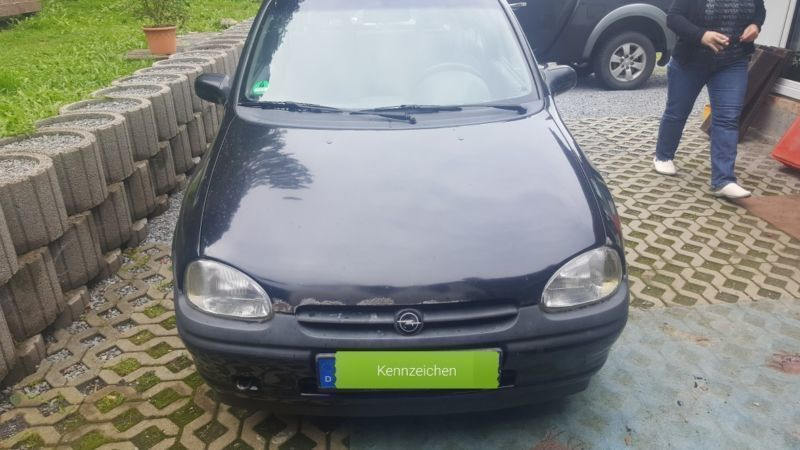 verkauft opel corsa b gebraucht 1996 km in sebnitz. Black Bedroom Furniture Sets. Home Design Ideas