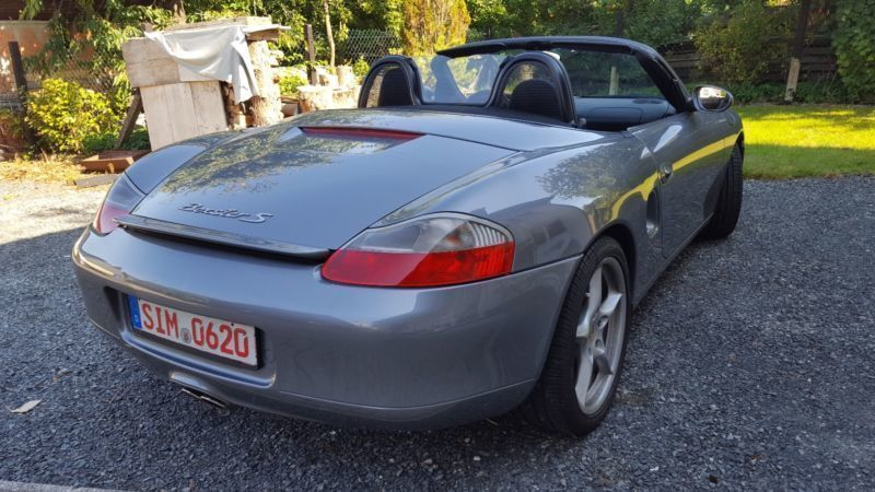 verkauft porsche boxster s gebraucht 2001 km in pfalzfeld. Black Bedroom Furniture Sets. Home Design Ideas
