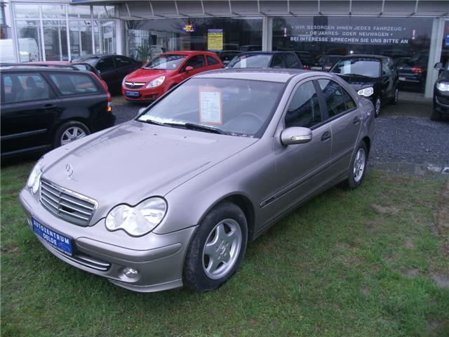 Verkauft Mercedes C180 Bei Kauf Inspek Gebraucht 2004 205 600 Km