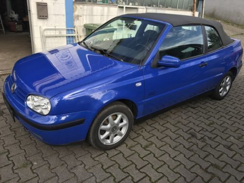 verkauft vw golf cabriolet 4 gebraucht 1998 km. Black Bedroom Furniture Sets. Home Design Ideas
