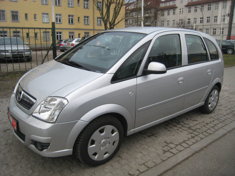 verkauft opel meriva 1 6 16v gebraucht 2006 km in sindlingen. Black Bedroom Furniture Sets. Home Design Ideas