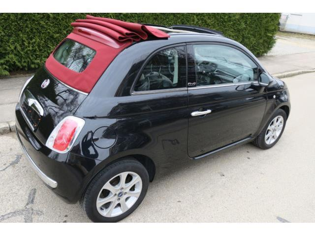 verkauft fiat 500c 500 cabrio lounge s gebraucht 2012 km in hattenhofen. Black Bedroom Furniture Sets. Home Design Ideas