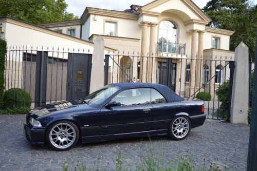 verkauft bmw 320 cabriolet gebraucht 1999 km in mainz. Black Bedroom Furniture Sets. Home Design Ideas