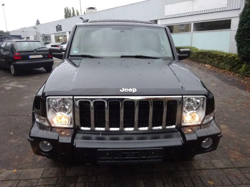 verkauft jeep commander 3 0 crd dpf au gebraucht 2007 km in niedersachsen. Black Bedroom Furniture Sets. Home Design Ideas