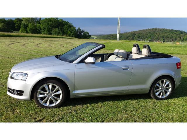 verkauft audi a3 cabriolet gebraucht 2012 km in. Black Bedroom Furniture Sets. Home Design Ideas