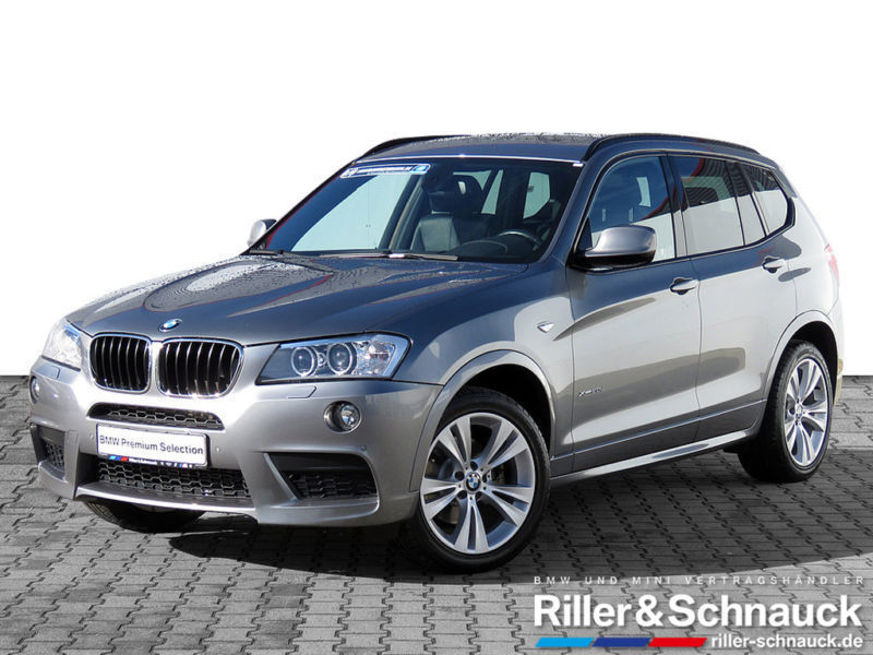 gebraucht BMW X3 xDrive 20dA M Sportpaket PDC SHZ LEDER XENON