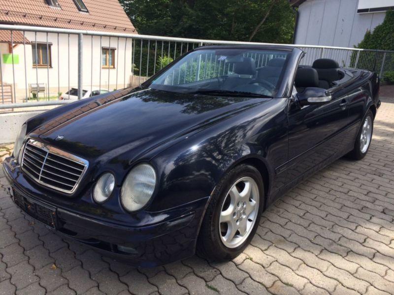 verkauft mercedes clk230 cabrio kompre gebraucht 2002 km in ottenhofen. Black Bedroom Furniture Sets. Home Design Ideas