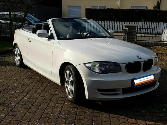 verkauft bmw 118 cabriolet 1er gebraucht 2009 km in seligenstadt. Black Bedroom Furniture Sets. Home Design Ideas