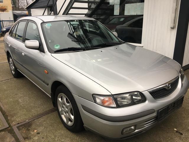 verkauft mazda 626 2.0 exclusive autom., gebraucht 1999, 189.000 km
