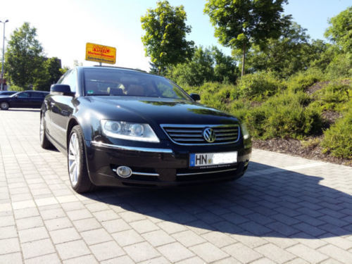 verkauft vw phaeton gebraucht 2009 km in eppingen. Black Bedroom Furniture Sets. Home Design Ideas