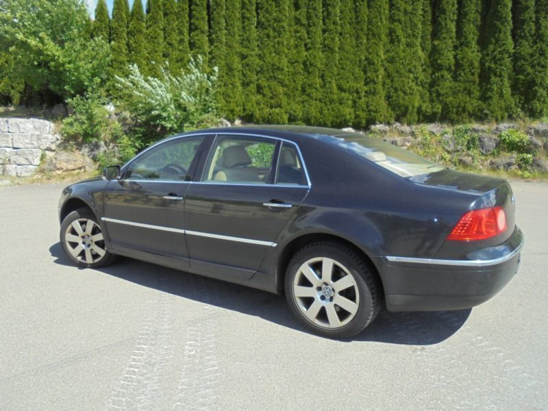 verkauft vw phaeton 5 0 v10 tdi 4motio gebraucht 2005 km in strassberg. Black Bedroom Furniture Sets. Home Design Ideas