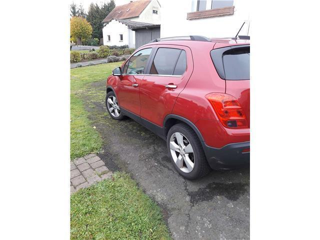 verkauft chevrolet trax 1 4t awd lt 1 gebraucht 2013 km in neuenstadt. Black Bedroom Furniture Sets. Home Design Ideas