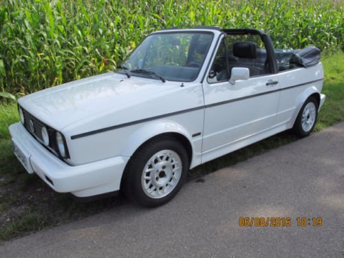 gebraucht cabrio vw golf cabriolet 1989 km in. Black Bedroom Furniture Sets. Home Design Ideas