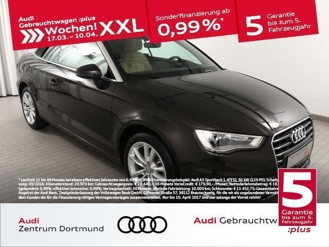 gebraucht Audi A3 Cabriolet 1.4TFSI CoD S tronic/Leder/SHZ/NAV (Navi