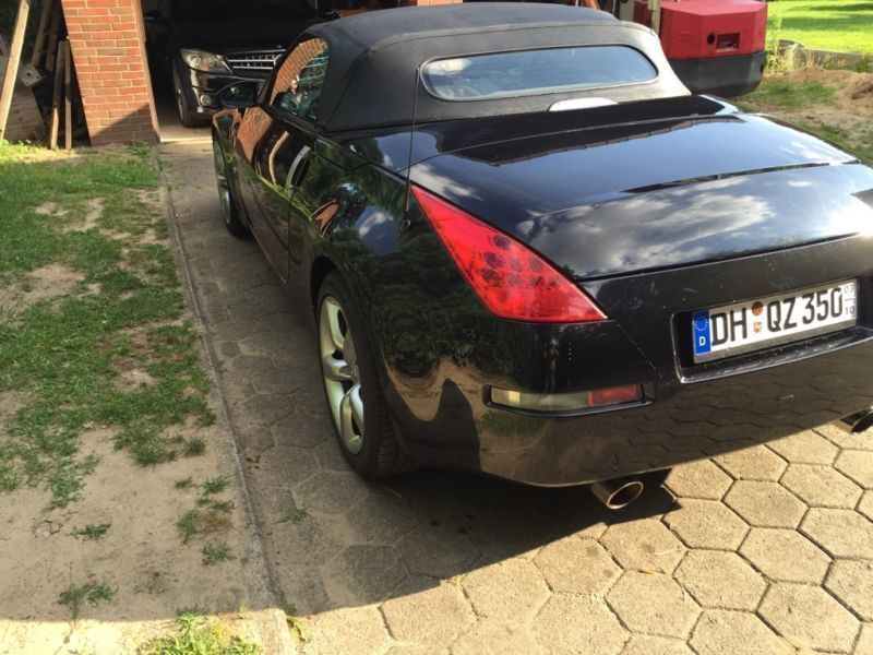 verkauft nissan 350z 350 z roadster pr gebraucht 2007 km in korschenbroich. Black Bedroom Furniture Sets. Home Design Ideas