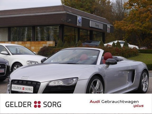 verkauft audi r8 spyder v10 5 2 fsi qu gebraucht 2012 km in coburg. Black Bedroom Furniture Sets. Home Design Ideas