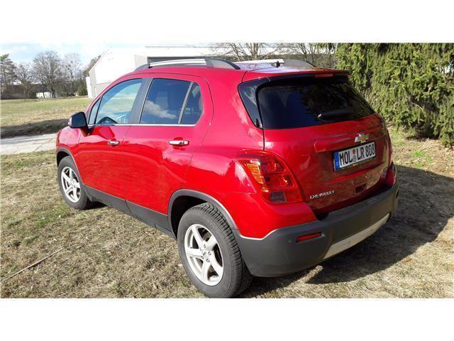 verkauft chevrolet trax 1 7td automati gebraucht 2014 km in petershagen. Black Bedroom Furniture Sets. Home Design Ideas