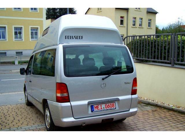 mercedes vito gebraucht camper best car review. Black Bedroom Furniture Sets. Home Design Ideas