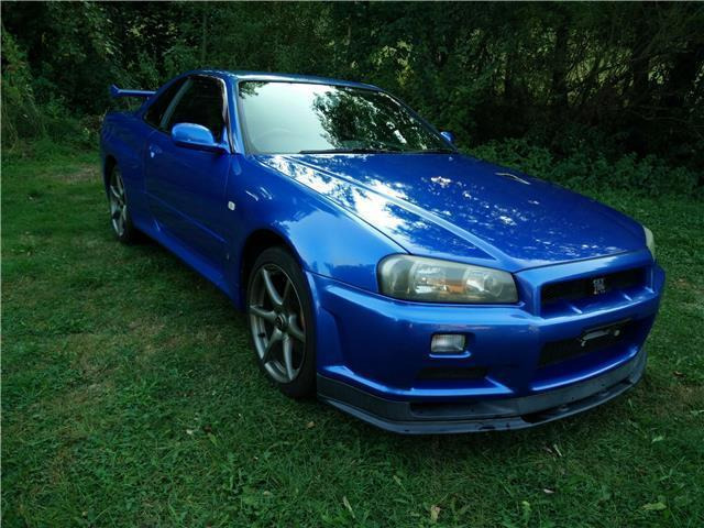 gebraucht skyline r34vspec ii bayside blue bnr34 gtr nissan gt r 2001 km in dornstetten. Black Bedroom Furniture Sets. Home Design Ideas