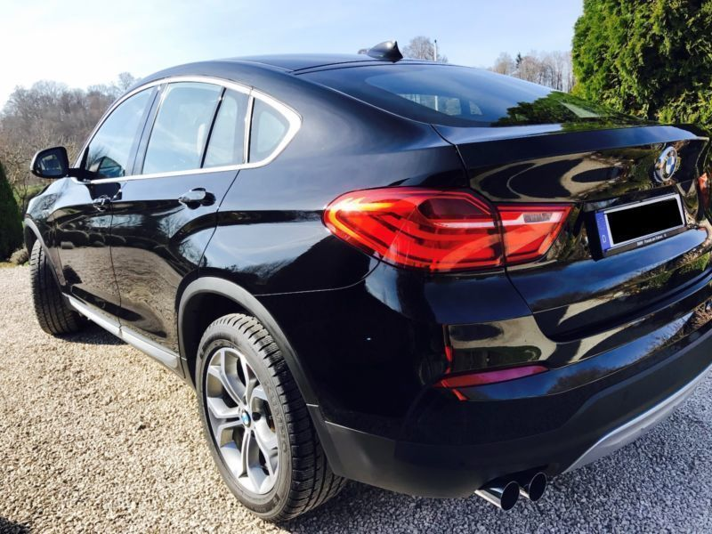 verkauft bmw x4 x20d aut sportpaket m gebraucht 2014 km in vilshofen. Black Bedroom Furniture Sets. Home Design Ideas