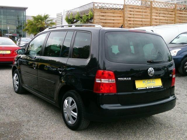 verkauft vw touran 1 9 tdi gebraucht 2003 km in mannheim. Black Bedroom Furniture Sets. Home Design Ideas