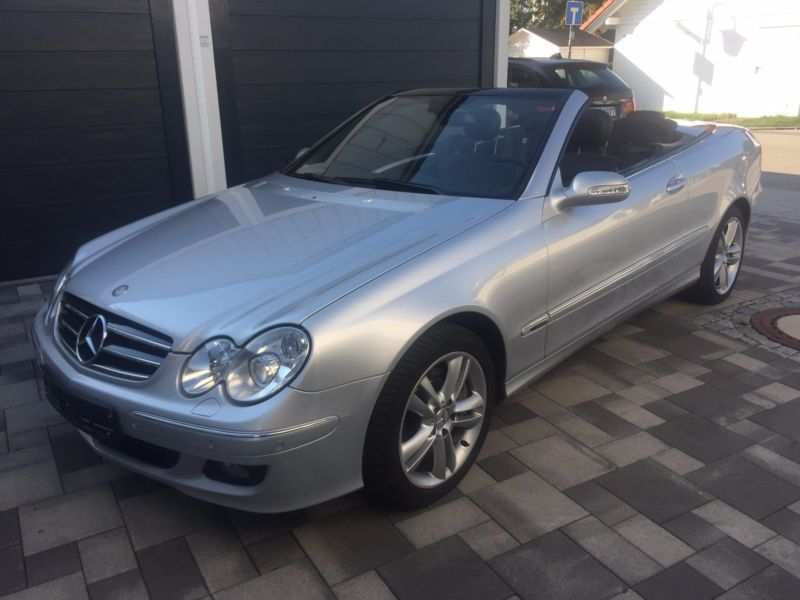 verkauft mercedes clk350 clk cabrio gebraucht 2006 156. Black Bedroom Furniture Sets. Home Design Ideas