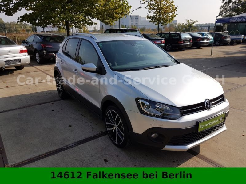 verkauft vw polo cross crosspolo 1 2 t gebraucht 2015 km in dallgow d beritz. Black Bedroom Furniture Sets. Home Design Ideas