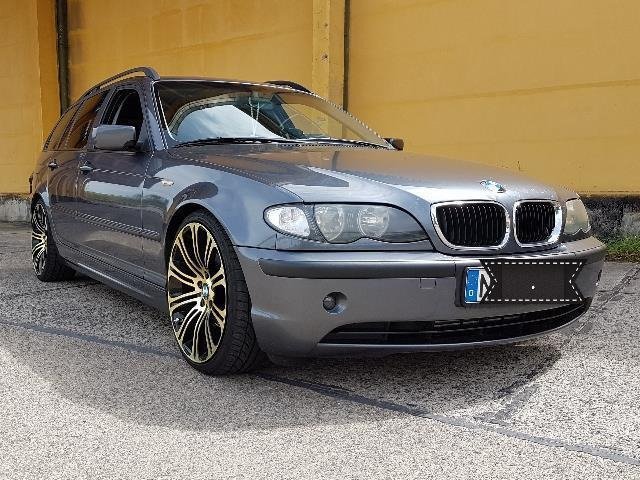 verkauft bmw 320 3er touring gebraucht 2002 km. Black Bedroom Furniture Sets. Home Design Ideas