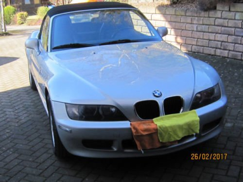 verkauft bmw z3 roadster 1 8 gebraucht 2001 km in. Black Bedroom Furniture Sets. Home Design Ideas