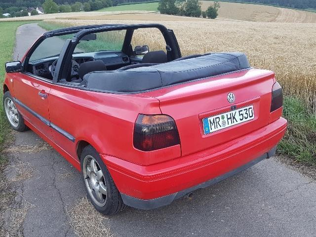 verkauft vw golf cabriolet cabrio 1 8 gebraucht 1994 km in wenden. Black Bedroom Furniture Sets. Home Design Ideas