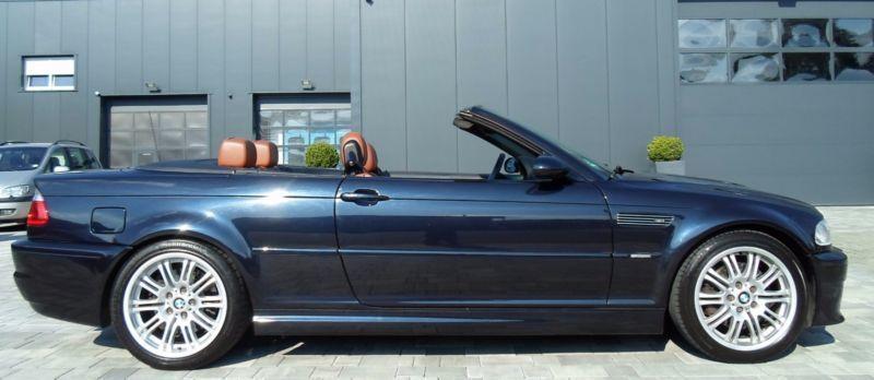 verkauft bmw m3 cabriolet schalter gar gebraucht 2001 km in herborn. Black Bedroom Furniture Sets. Home Design Ideas