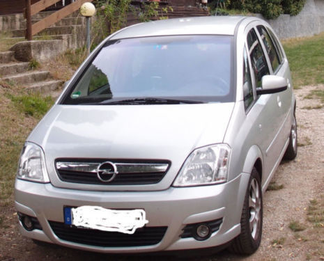 verkauft opel meriva 1 4 gebraucht 2007 km in salem. Black Bedroom Furniture Sets. Home Design Ideas
