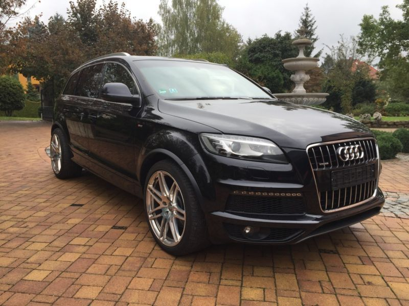 verkauft audi q7 4 2 s line plus 21 gebraucht 2011 km in bad homburg. Black Bedroom Furniture Sets. Home Design Ideas