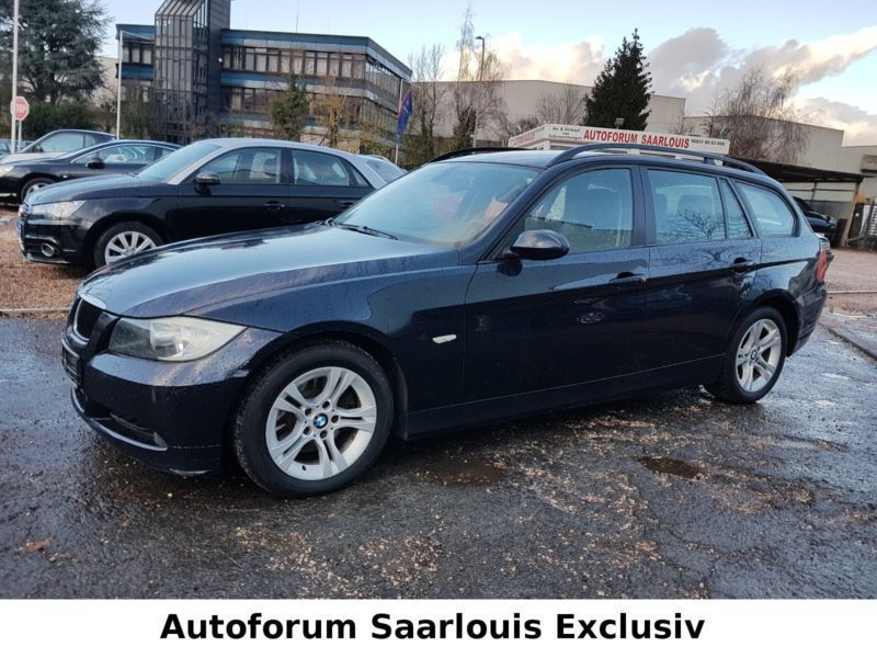 verkauft bmw 318 baureihe 3 touring d gebraucht 2008 km in saarlouis. Black Bedroom Furniture Sets. Home Design Ideas
