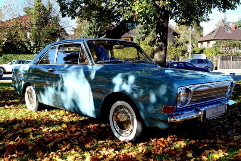 verkauft ford taunus 12 m coupe t v as gebraucht 1970 km in m nchen. Black Bedroom Furniture Sets. Home Design Ideas
