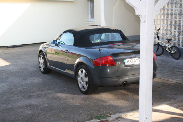 verkauft audi tt roadster 1 8 t cabrio gebraucht 1999 km in h xter. Black Bedroom Furniture Sets. Home Design Ideas