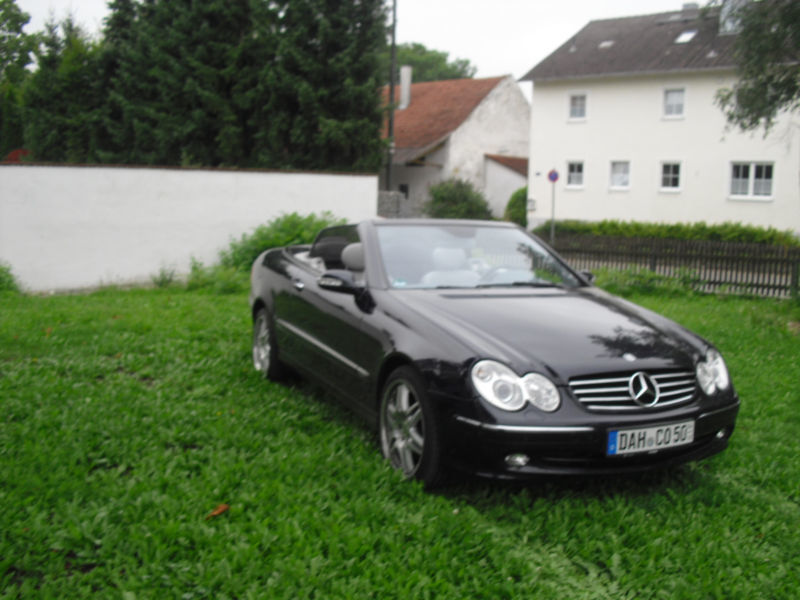verkauft mercedes clk500 clk cabrio gebraucht 2003 km in feldgeding. Black Bedroom Furniture Sets. Home Design Ideas