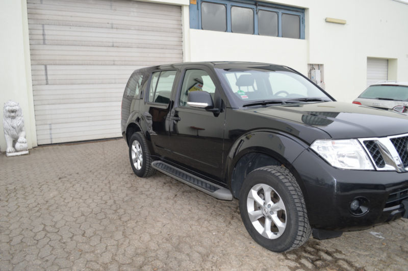 verkauft nissan pathfinder 2 5 dci xe gebraucht 2014 km in ingolstadt. Black Bedroom Furniture Sets. Home Design Ideas