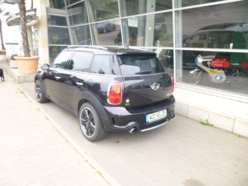 verkauft mini cooper s countryman all4 gebraucht 2011. Black Bedroom Furniture Sets. Home Design Ideas