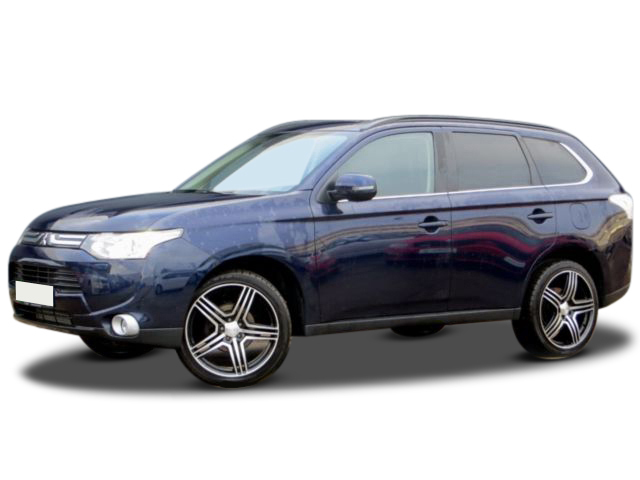 gebraucht Mitsubishi Outlander 2.2 D ID 4WD XENON NAVI TEL 20F AHK